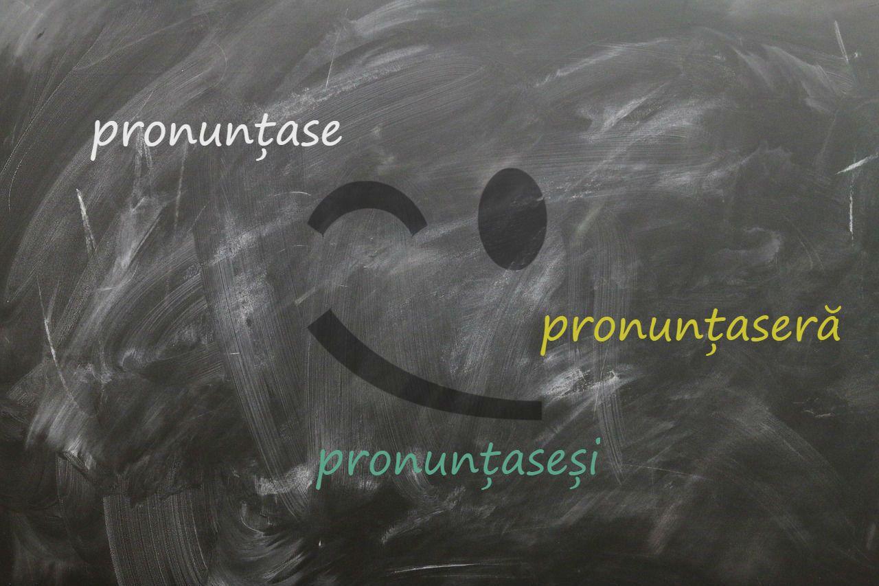 pronuntase pronuntaseram